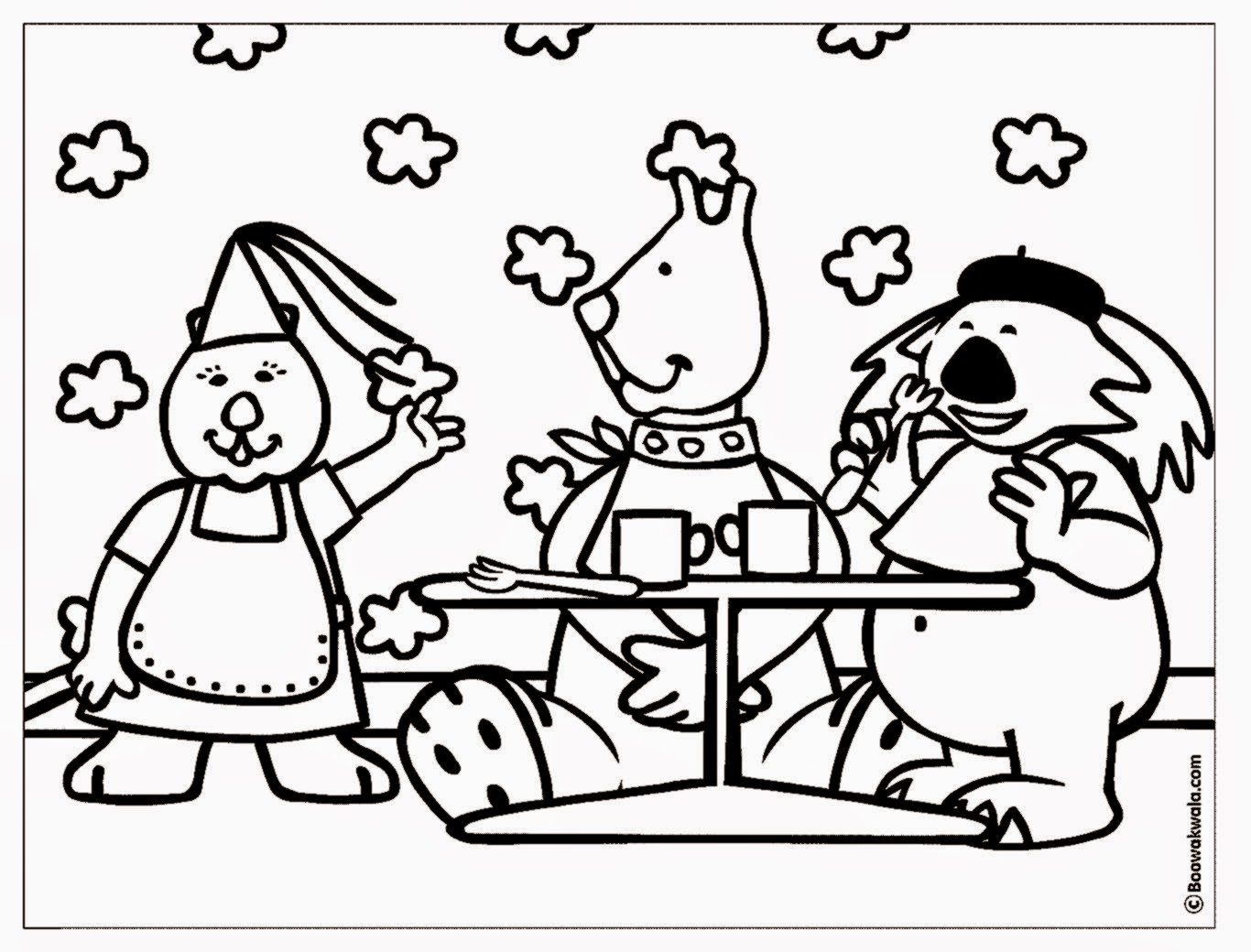 Coloring Pages for Restaurants to Print 6n - Free For kids