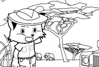 African Safari Coloring Pages - Safari Coloring Page Handipoints to Print
