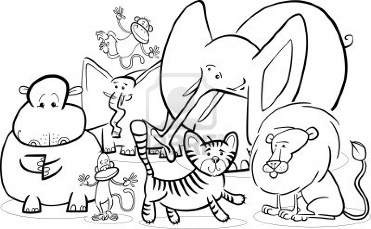 Jungle Safari Coloring Pages Download – Free Coloring Sheets