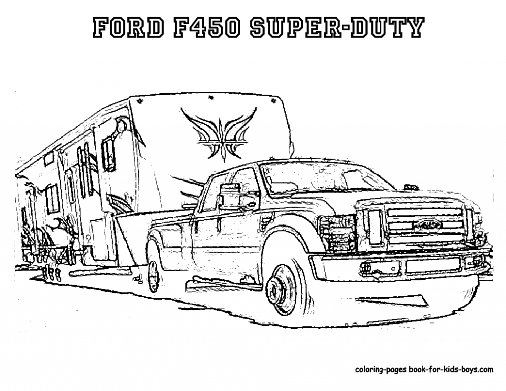 2017 ford F 150 Raptor Coloring Page Gallery – Free Coloring Sheets