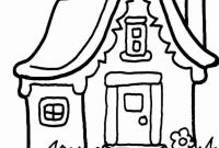 School House Coloring Pages - School Building Coloring Pages Magnificent House Page to Print