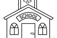 School House Coloring Pages - School House Coloring Page Download