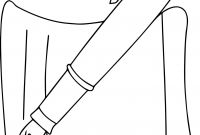 Pen Coloring Pages - School Pen Coloring Page Awesome top 89 Pen Coloring Pages Free Download