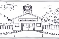 School House Coloring Pages - Schoolhouse Coloring Pages Printables Page Grig3 to Print