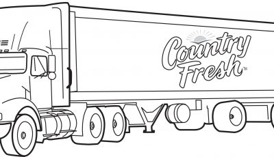 Truck Coloring Pages - Semi Truck Coloring Pages Coloringsuite Printable