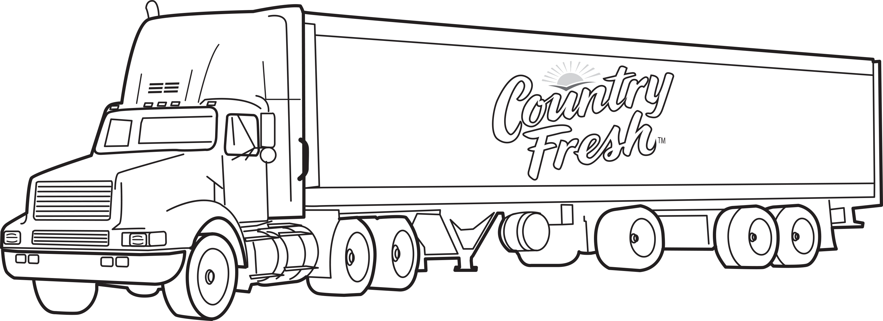 Truck Coloring Pages Gallery 10c - To print for your project