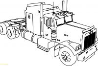 Truck Coloring Pages - Semi Truck Coloring Pages with M911 Tractor A Het Free Fair to Print