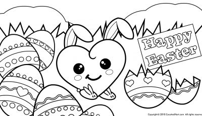 Online Easter Coloring Pages - Sensational Design Easter Coloring Pages Free Printable at Book Printable