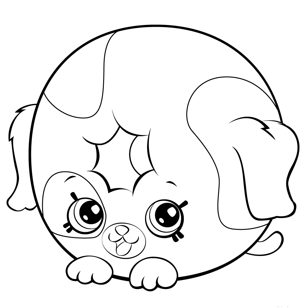 Shopkins Coloring Pages 45 Download Of Shopkins Coloring Pages 45 Download