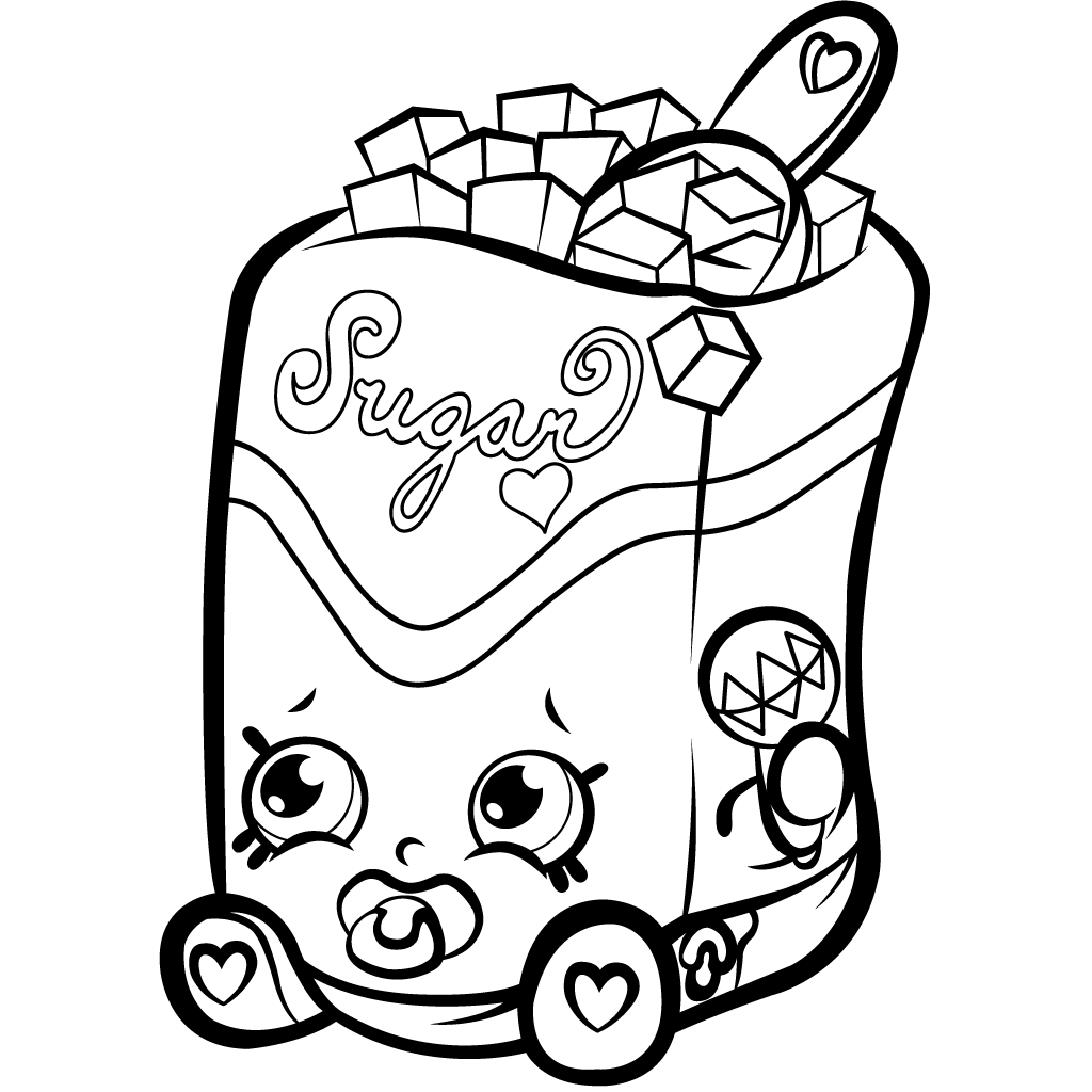 Shopkins Printable Coloring Pages   Shopkins Coloring Pages Best Coloring  Pages For Kids Download