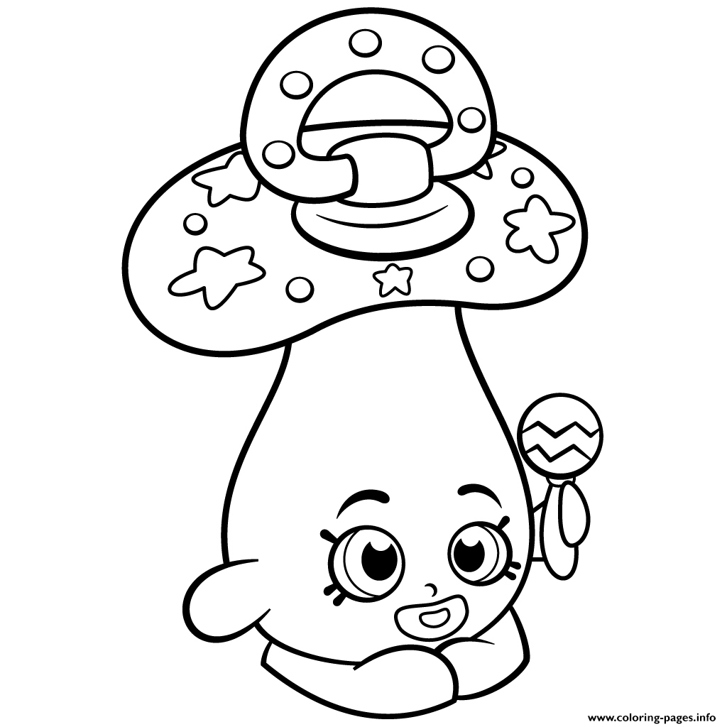 Shopkins Printable Coloring Pages Gallery Free Coloring
