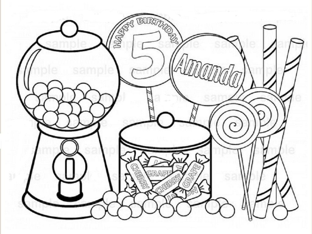Skittles Coloring Pages Collection 18b - Free For Children