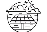 Solar Energy Coloring Pages - solar Energy Coloring Page Coloringcrew Download