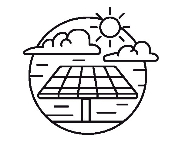Solar Energy Coloring Pages Printable 1m - Free Download