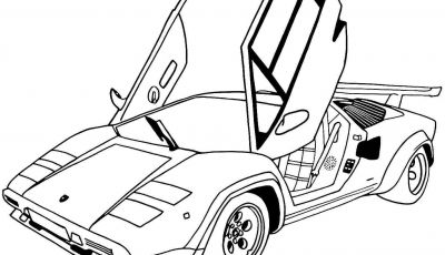Coloring Pages Sports Cars - Sports Car Tuning 17 Transportation Printable Coloring Pages at Printable