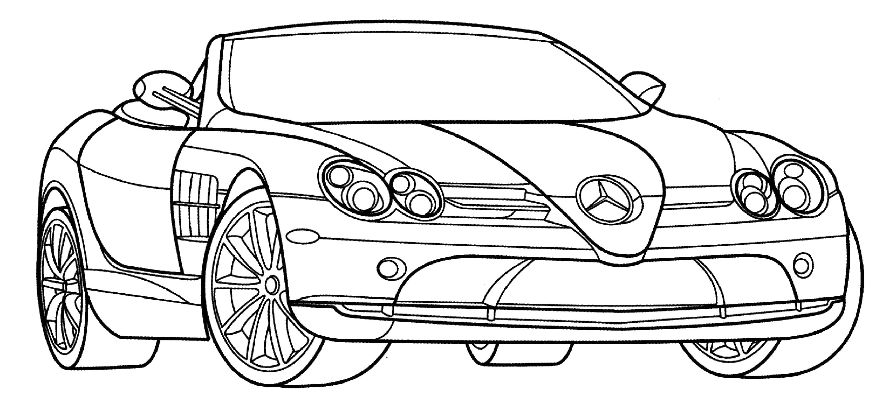 Coloring Pages Sports Cars to Print
