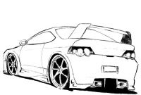 Coloring Pages Sports Cars - Sports Car Tuning 18 Transportation – Printable Coloring Pages Collection
