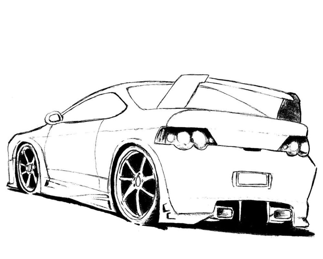 Coloring Pages Sports Cars to Print | Free Coloring Sheets