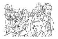 Star Wars Characters Coloring Pages - Star Wars for Kids Star Wars Coloring Pages for Kids Collection