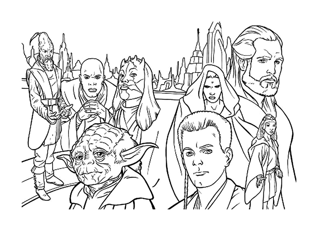 Star Wars for Kids Star Wars Coloring Pages for Kids Collection Of Unique Star Wars Cartoon Characters Coloring Pages Collection to Print