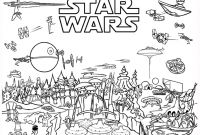 Star Wars Characters Coloring Pages - Star Wars World Free Coloring Page • Kids Movies Star Wars Printable