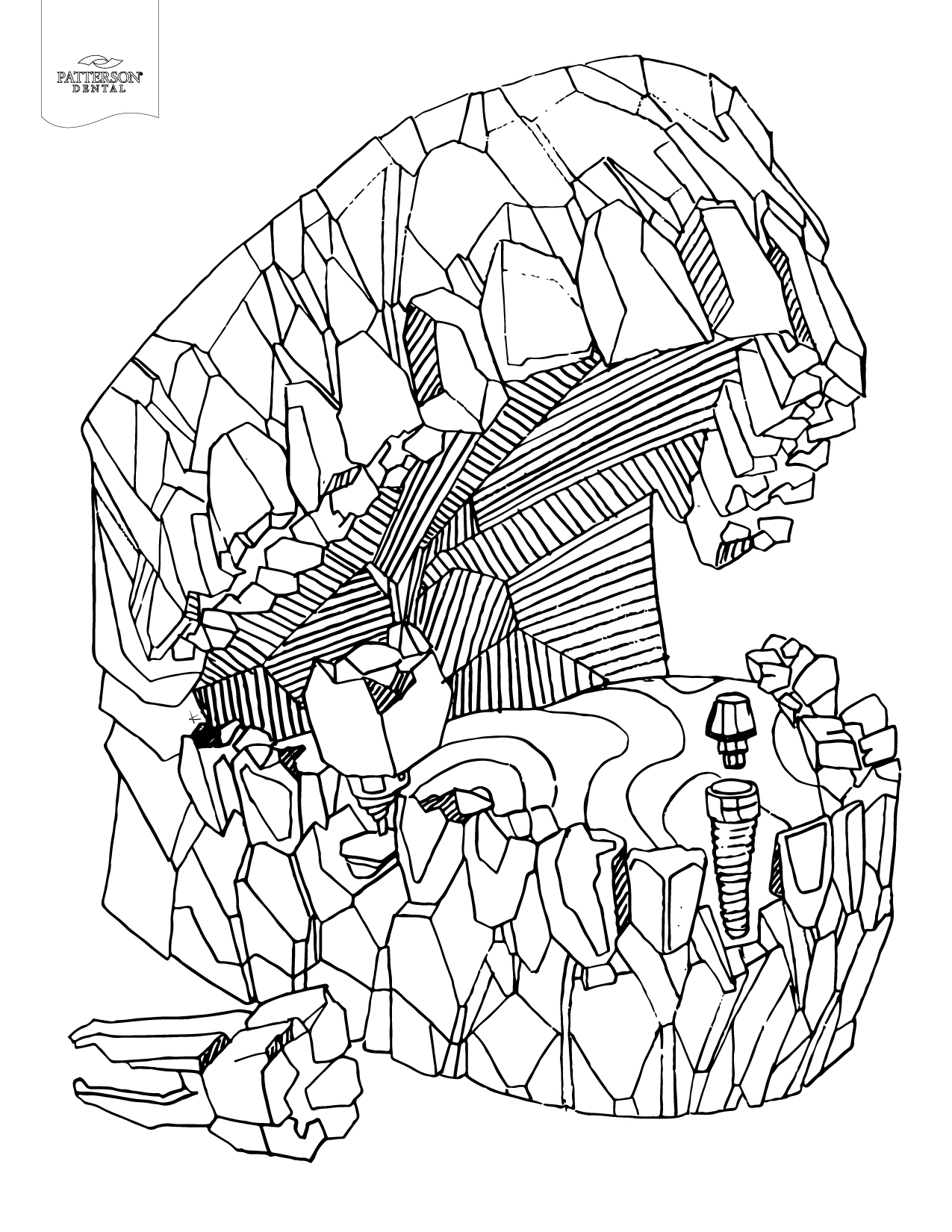 Teeth Coloring Pages Coloring Book Collection – Free Coloring Sheets