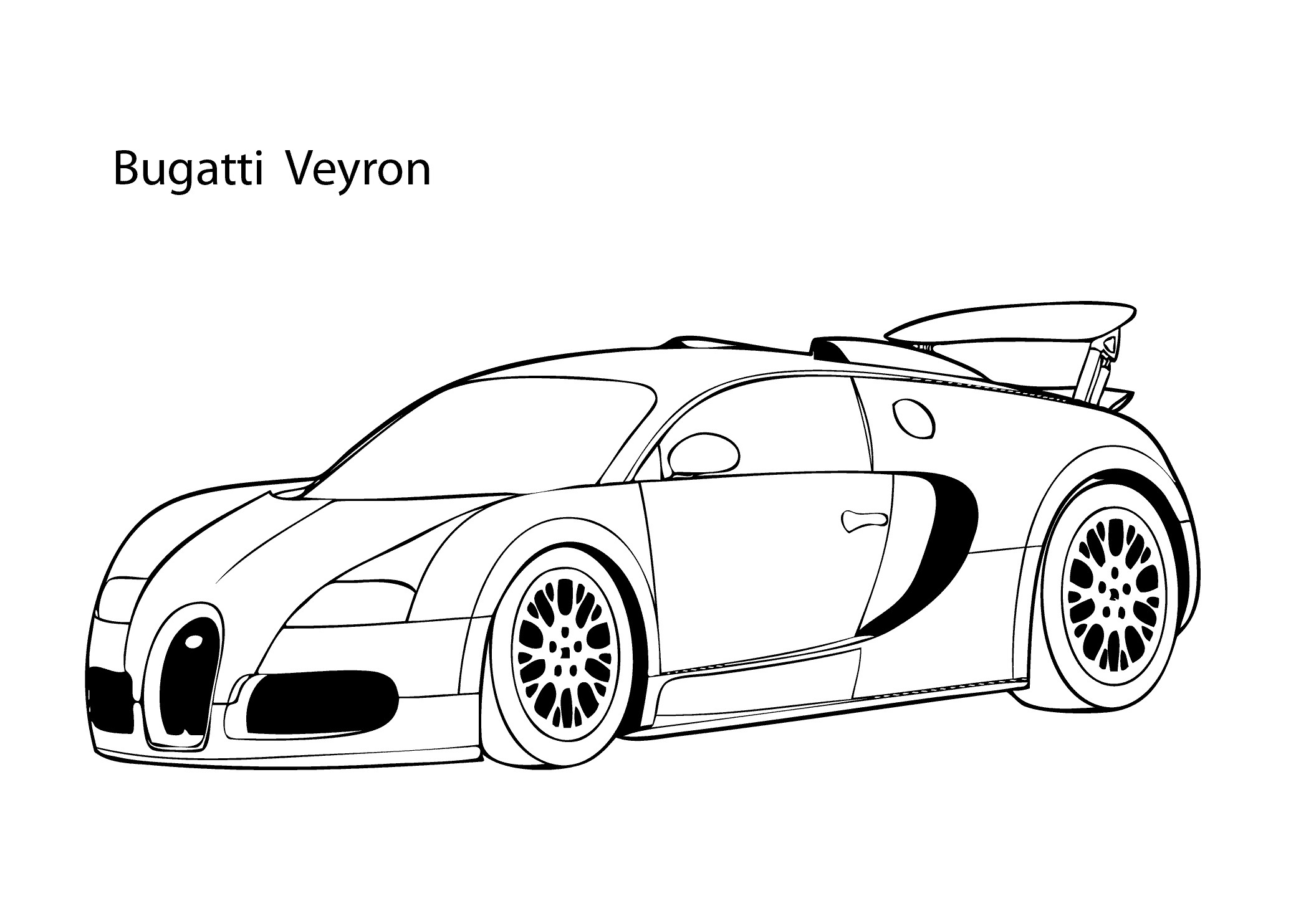 Super Car Buggati Veyron Coloring Page Fresh Coloring Pages Sports Download Of Cars Lighting Mcqueen Free Coloring Page • Cars Movies Coloring Pages Gallery