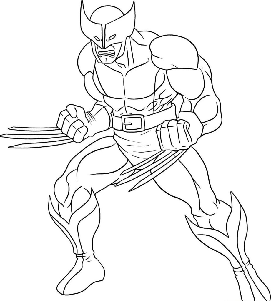 Superhero Coloring Pages Cute Superhero Coloring Pages Printable to Print Of Super Heroes Coloring Pages Coloring Pages Printable