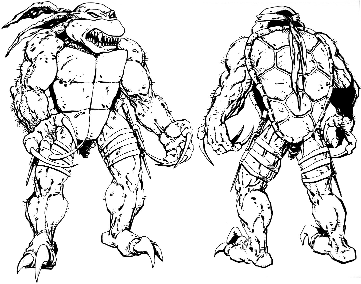 Ninja Turtles Movie Coloring Pages Collection 3j - Free Download