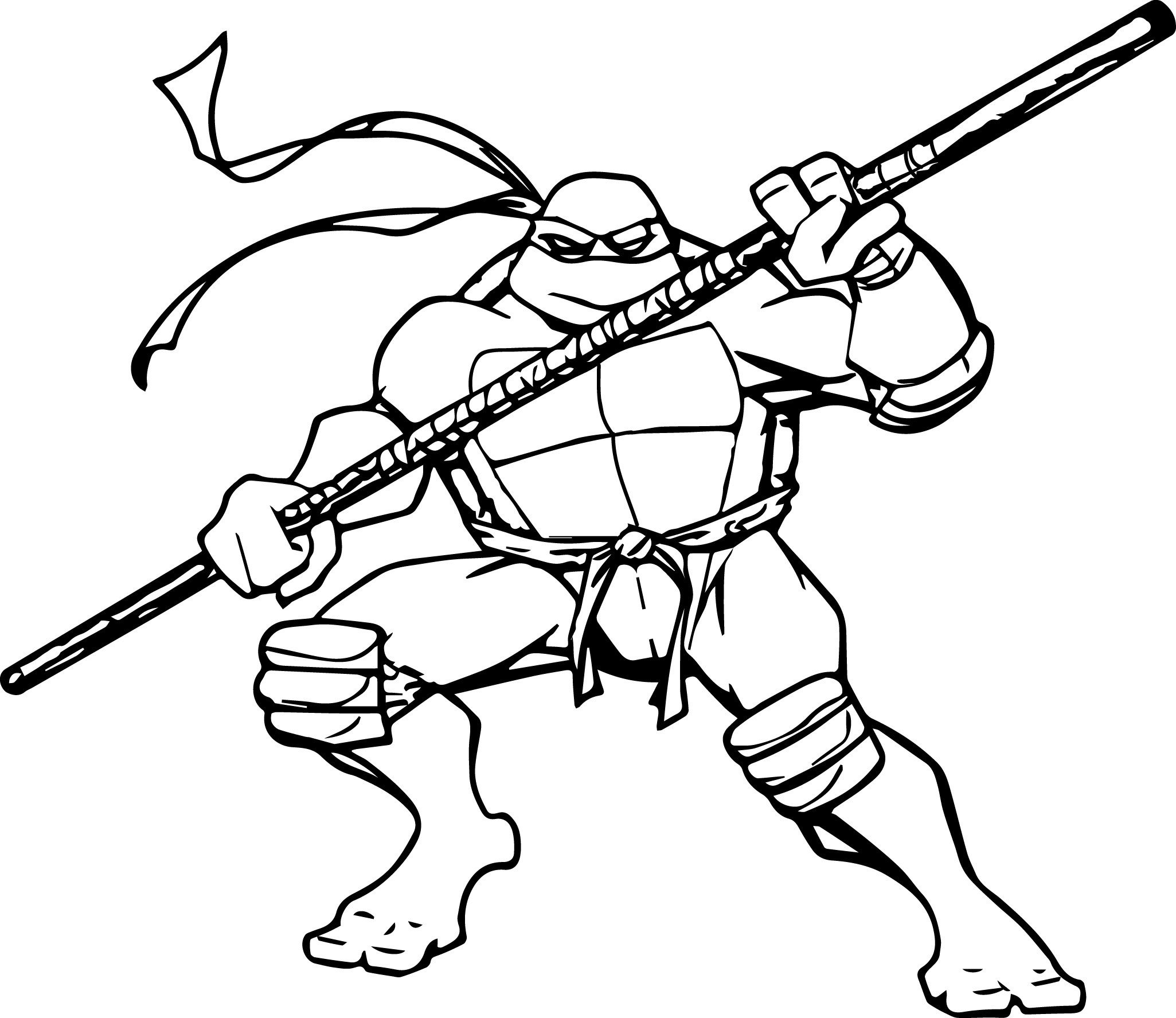 Ninja Turtles Movie Coloring Pages Collection Free