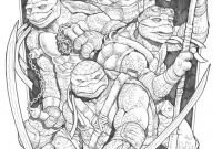 Ninja Turtles Movie Coloring Pages - Teenage Mutant Ninja Turtles by Rubusthebarbarian On Deviantart to Print