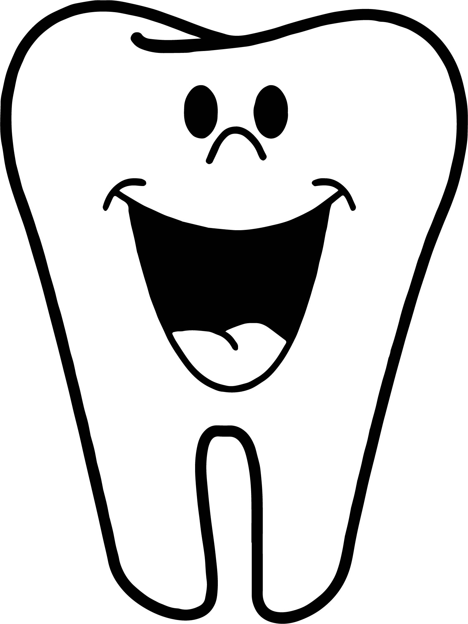 Teeth Coloring Pages Gallery | Free Coloring Sheets