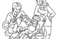 Dentist Coloring Pages for Kids - Teeth Coloring Pages Preschool Gallery