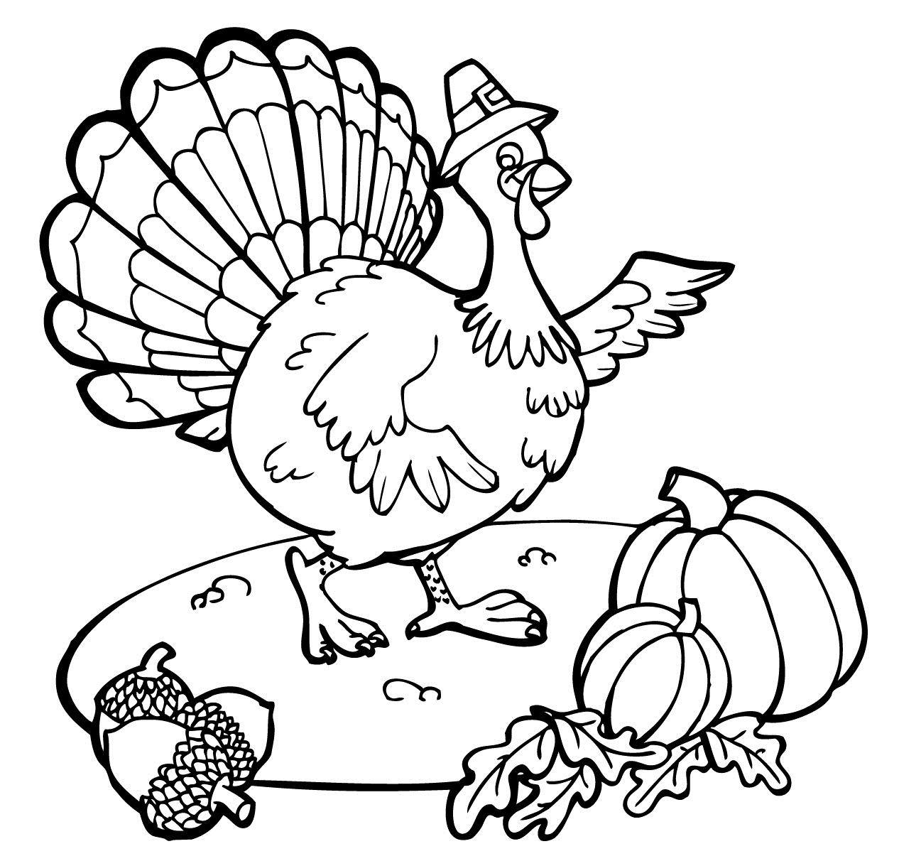 Thanksgiving Color Pages to Print 3161 1405—986 to Print Of Leaf Coloring Pages for Preschool Gallery