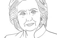 Hillary Clinton Coloring Pages - This Hillary Clinton Coloring Book From Sheknows Reminds Girls they Printable