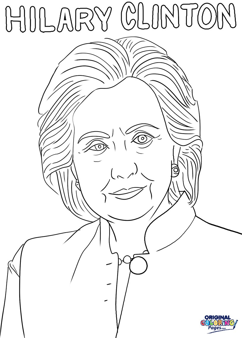 This Hillary Clinton Coloring Book From Sheknows Reminds Girls they Printable Of Political Style Politics and Pantsuits the Hillary Clinton Download