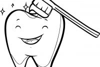 Teeth Coloring Pages - tooth Coloring Pages Kids Teeth Page and Glum Me Dental for Showy Gallery