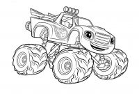 Blaze Coloring Pages to Print - top 31 Blaze and the Monster Machines Coloring Pages Beauteous Printable