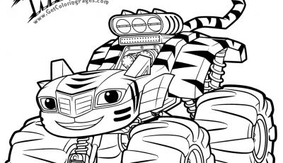 Blaze Coloring Pages to Print - top 31 Blaze and the Monster Machines Coloring Pages Collection