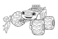 Blaze Coloring Pages to Print - top 31 Blaze and the Monster Machines Coloring Pages to Print