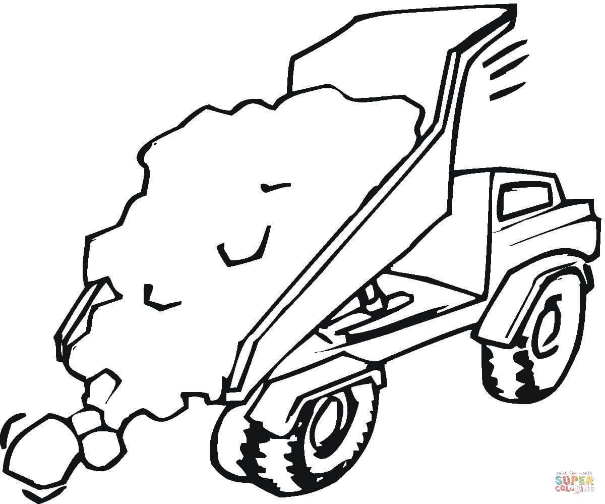 Trucks Coloring Pages Gallery – Free Coloring Sheets