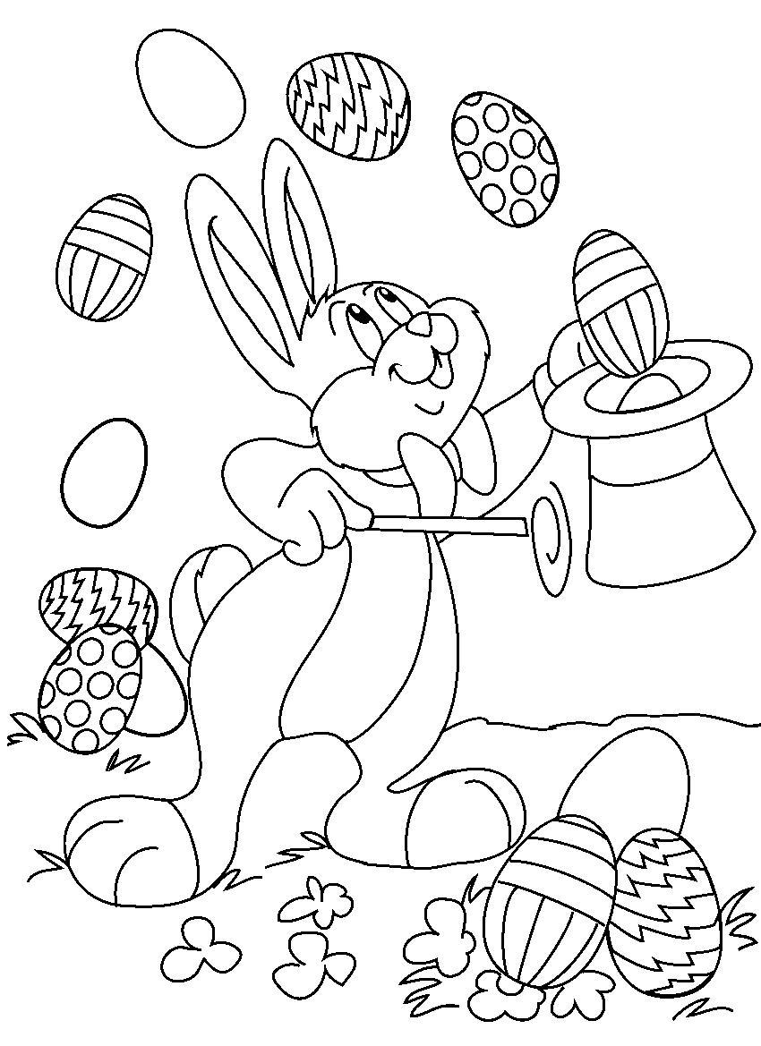 Unbelievable Coloring Easter Printable Page Fun Image Ideas and Printable Of Easter Coloring14 Gallery