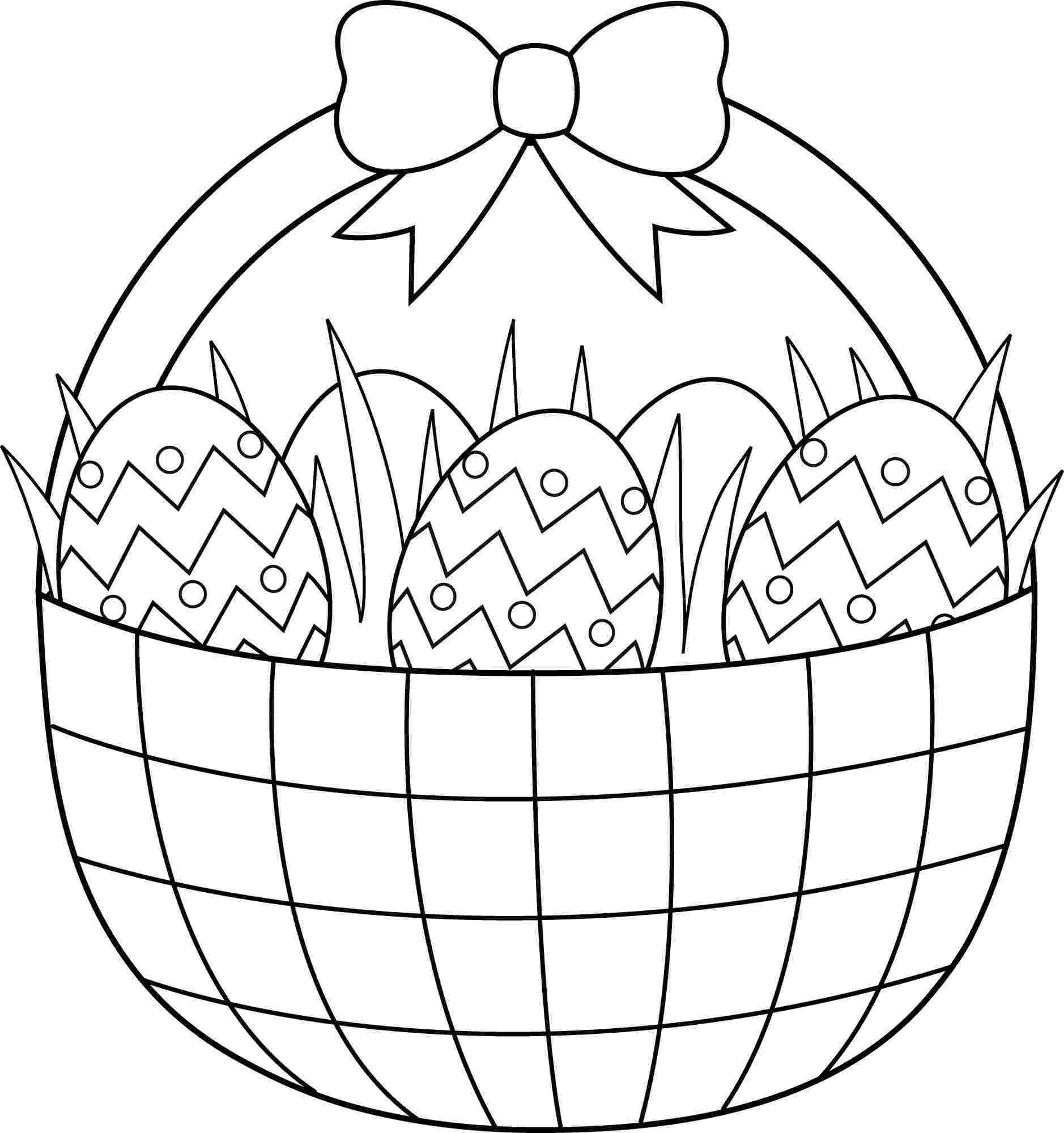 Easter Coloring 25 Free Printable Easter Coloring Pages Printable ...