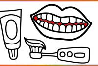 Teeth Coloring Pages - Unbelievable the Best toothbrush Coloring Page Preschool A to Print