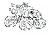 Truck Coloring Pages - Unique Monster Truck Coloring Pages Gallery to Print