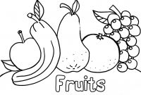 Pre Kinder Coloring Pages - Ve Ables and Fruits Download