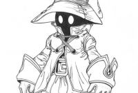 Final Fantasy Coloring Pages - Vivi Final Fantasy 9 by themosealiviantart On Deviantart to Print