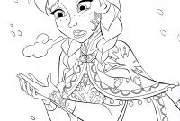 Walt Disney World Coloring Pages - Walt Disney Coloring Pages Princess Anna Walt Disney Characters to Print