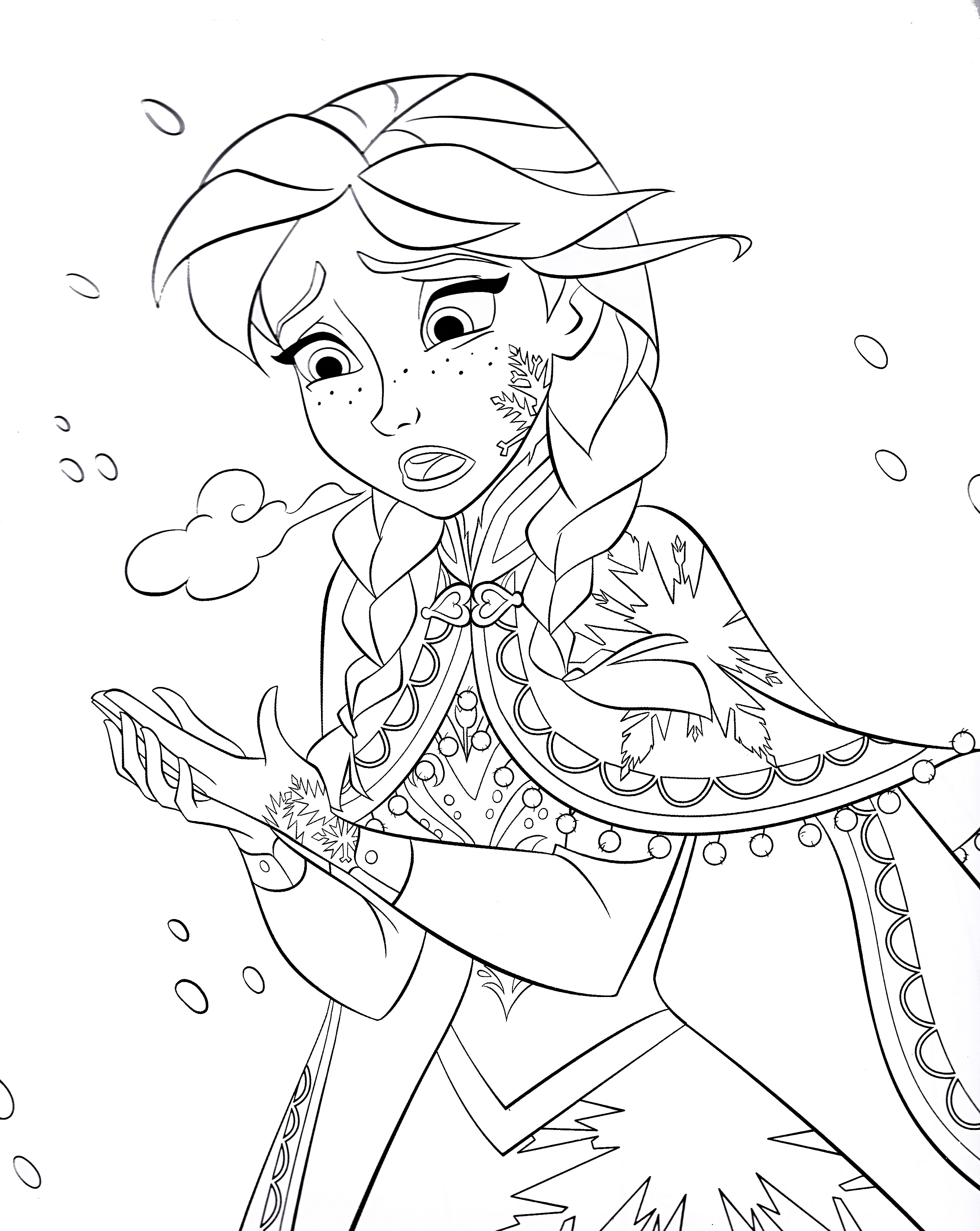 Walt Disney Coloring Pages Princess Anna Walt Disney Characters to Print Of Walt Disney Coloring Pages Marie Walt Disney Characters Download