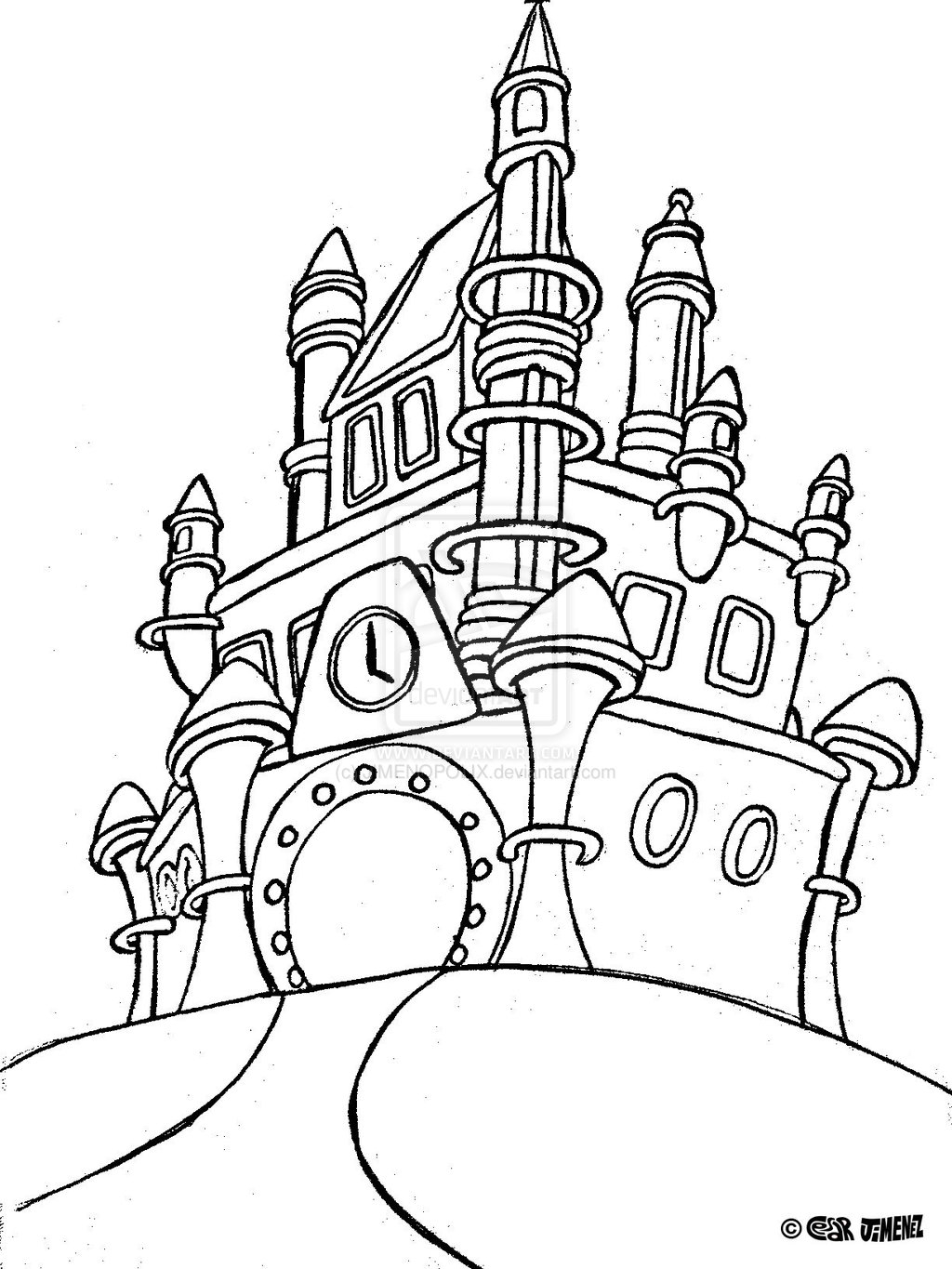 Walt Disney World Coloring Pages Download Of Walt Disney Coloring Pages Marie Walt Disney Characters Download